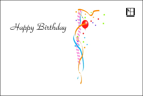 Birthday greeting cards service standard birthday greeting postcard backside example bookmarktalkfo Gallery