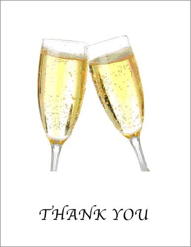 Thanks champagne