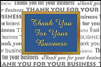 Thank you card 005